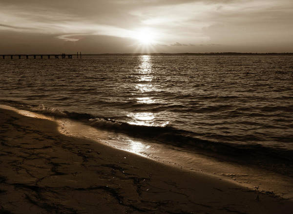 Photograph - Sepia Sunset by Keith Smith
