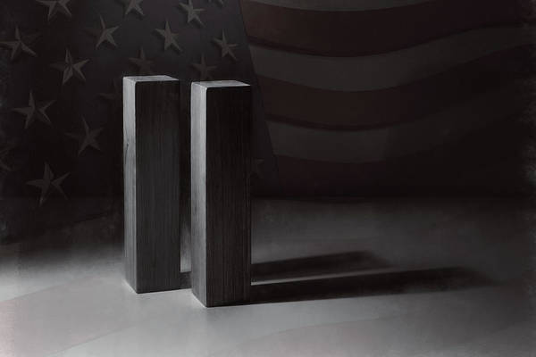 September 11, 2001 -  Never Forget Art Print
