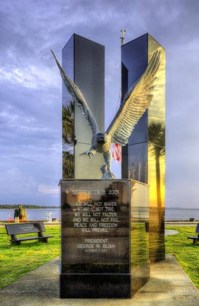 Wall Art - Photograph - September 11 Memorial by JC Findley
