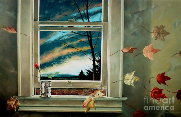 Painting - September Breeze by Christopher Shellhammer