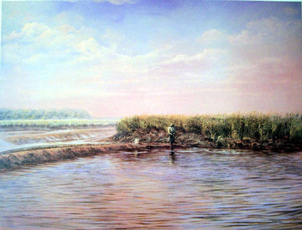Wall Art - Painting - September Haze by Douglas Grier