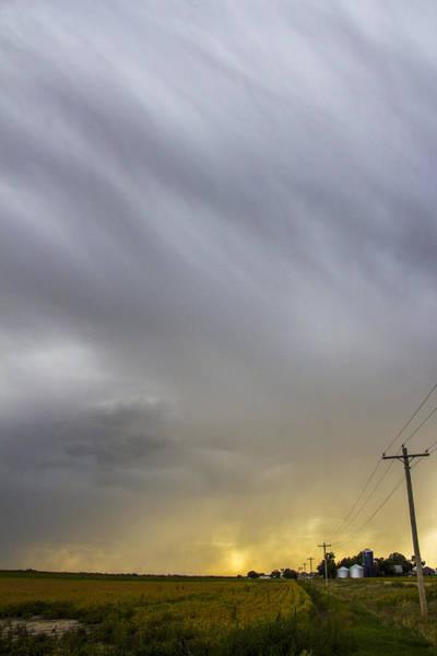 Photograph - September Nebraska Storm Cells 004 by NebraskaSC