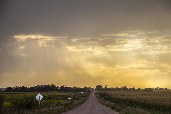 Photograph - September Nebraska Storm Cells 007 by NebraskaSC