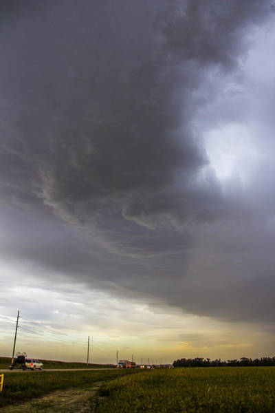 Photograph - September Nebraska Storm Cells 011 by NebraskaSC