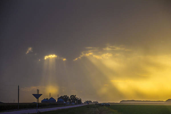Photograph - September Nebraska Storm Cells 013 by NebraskaSC
