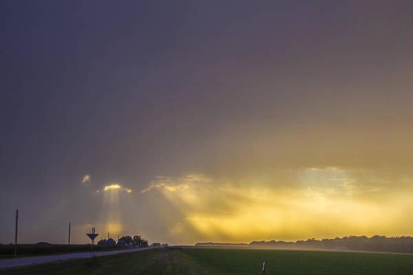 Photograph - September Nebraska Storm Cells 014 by NebraskaSC