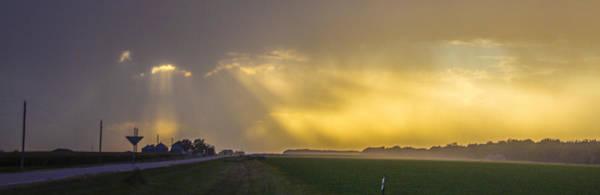 Photograph - September Nebraska Storm Cells 015 by NebraskaSC