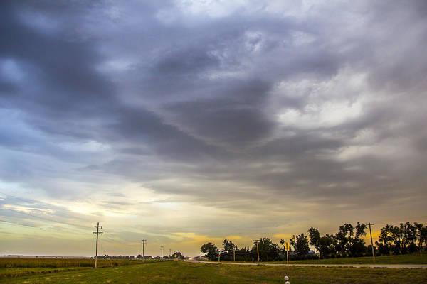 Photograph - September Nebraska Storm Cells 017 by NebraskaSC