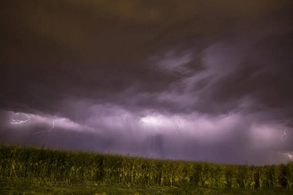 Photograph - September Nebraska Storm Cells 021 by NebraskaSC