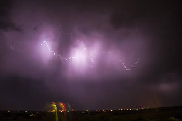 Photograph - September Nebraska Storm Cells 022 by NebraskaSC