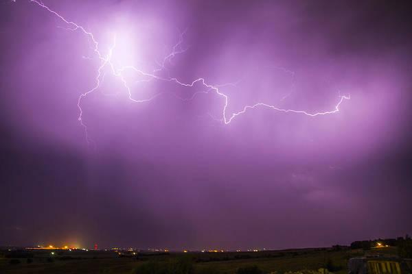 Photograph - September Nebraska Storm Cells 027 by NebraskaSC