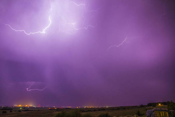 Photograph - September Nebraska Storm Cells 028 by NebraskaSC