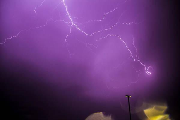 Photograph - September Nebraska Storm Cells 029 by NebraskaSC