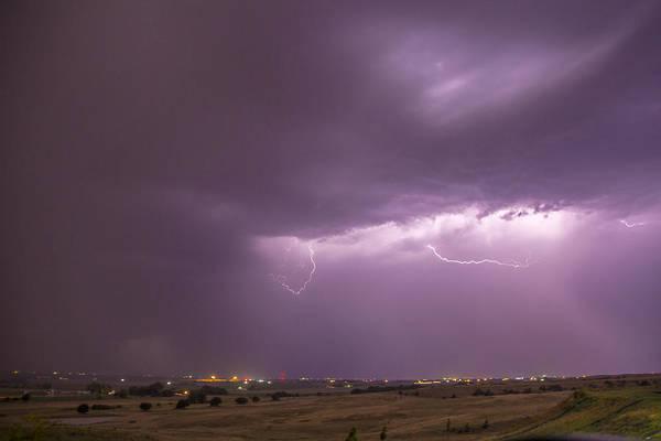 Photograph - September Nebraska Storm Cells 030 by NebraskaSC