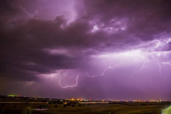 Photograph - September Nebraska Storm Cells 031 by NebraskaSC