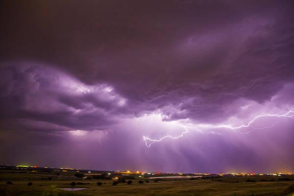 Photograph - September Nebraska Storm Cells 032 by NebraskaSC