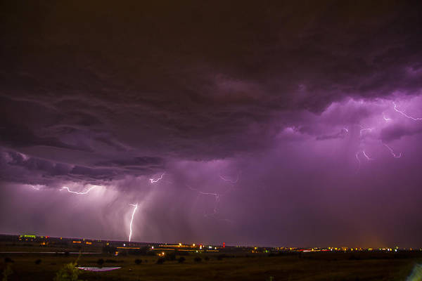 Photograph - September Nebraska Storm Cells 033 by NebraskaSC