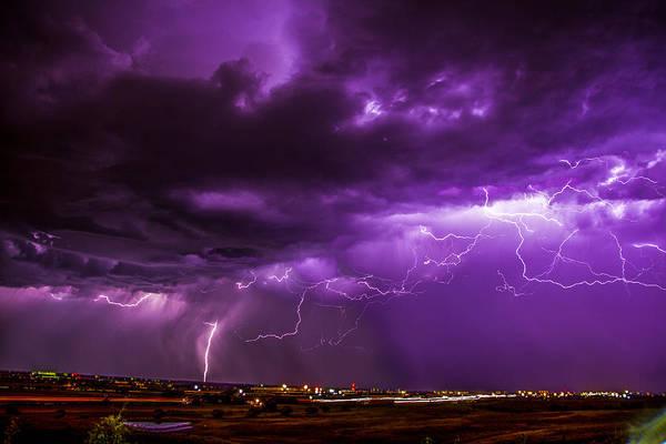 Photograph - September Nebraska Storm Cells 034 by NebraskaSC