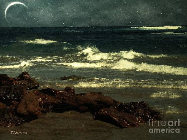 Painting - September Sea by RC DeWinter