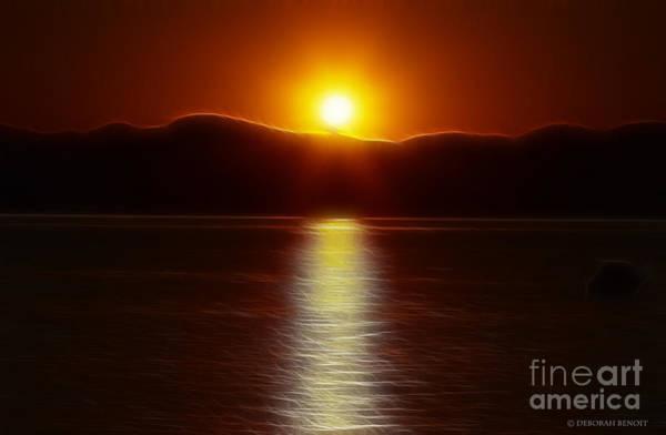 Photograph - September Sunset by Deborah Benoit