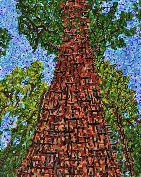 Wall Art - Painting - Sequoia National Park by Micah Mullen