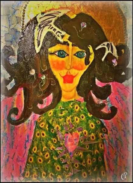 Painting - Seraphina by Christine Paris
