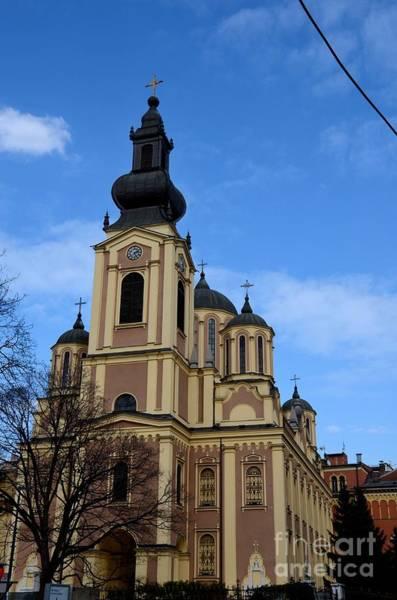 Photograph - Serbian Orthodox Cathedral Church Of The Nativity Of The Theotokos Sarajevo Bosnia Hercegovina by Imran Ahmed