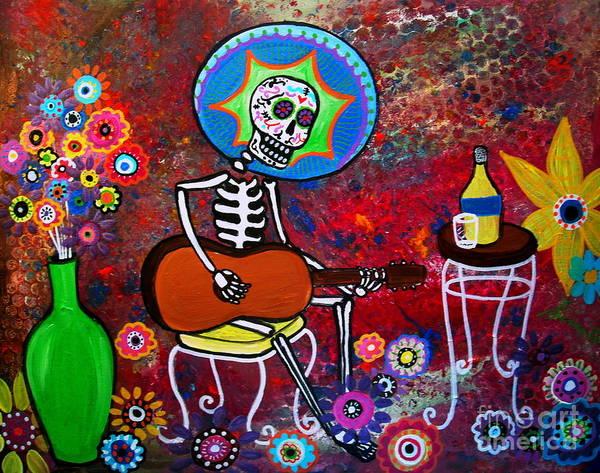 Wall Art - Painting - Serenata II by Pristine Cartera Turkus