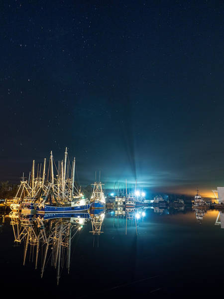 Photograph - Serene And Starry Night by Brad Boland