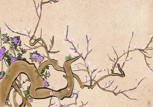 Hana Digital Art - Serene Blossom by Bobae Hana