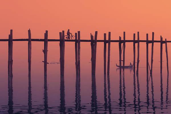 Photograph - Serene Dawn by Marji Lang