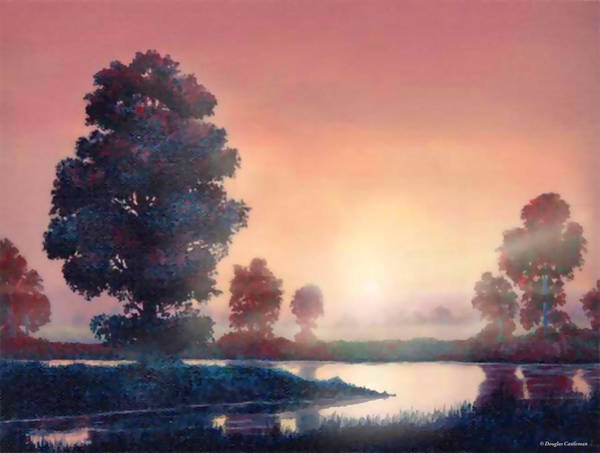 Painting - Serene Evening by Douglas Castleman