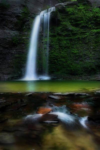 Photograph - Serene Falls by Bill Wakeley