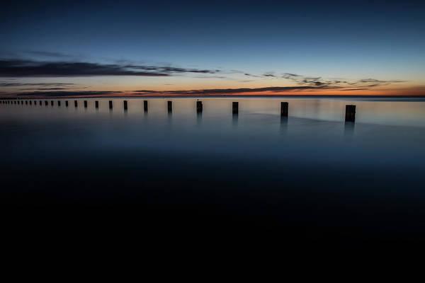 Photograph - Serene Lakefront Scene In Chicago by Sven Brogren
