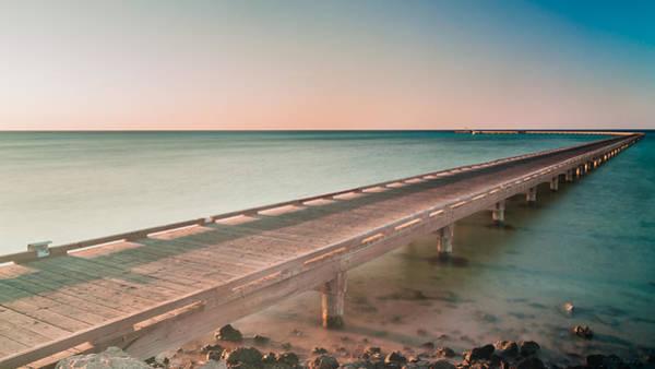 Photograph - Serene Seascape At Sunrise by Julis Simo