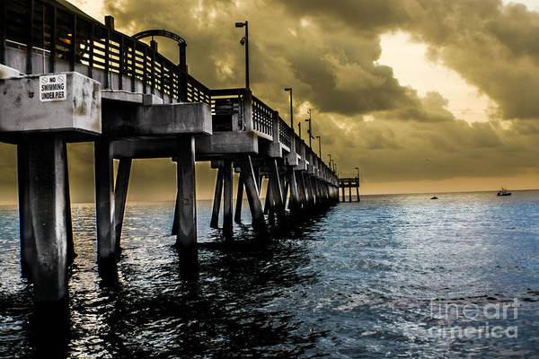 Photograph - Serene Seascape by Gary Keesler