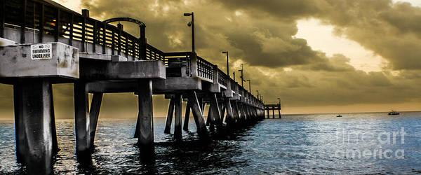 Photograph - Serene Seascape Panorama  by Gary Keesler
