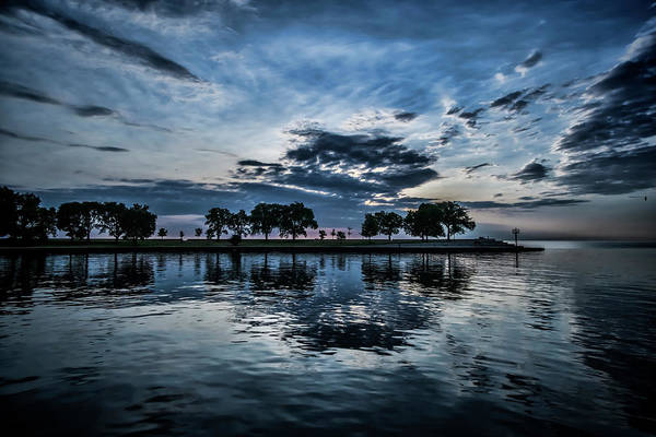 Photograph - Serene Summer Water And Clouds by Sven Brogren