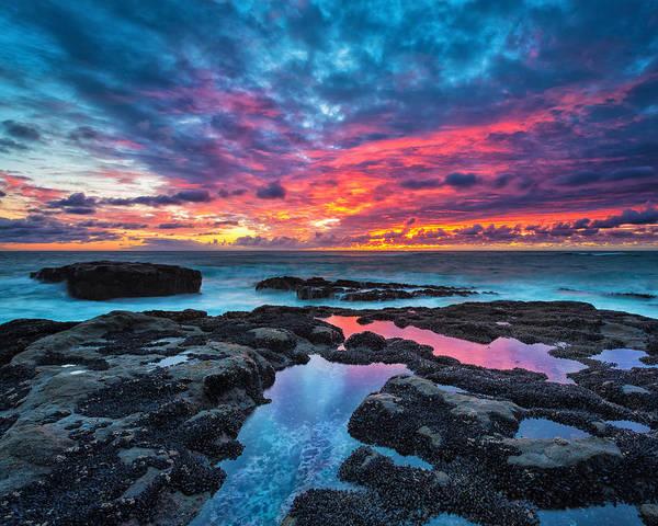 Wall Art - Photograph - Serene Sunset 16x20 by Robert Bynum