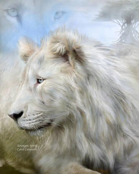 Mixed Media - Serengeti Spirit by Carol Cavalaris