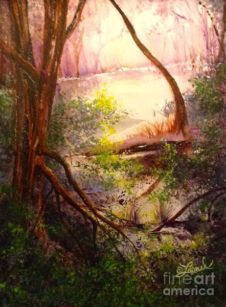 Wall Art - Painting - Serenity by Laurel Adams