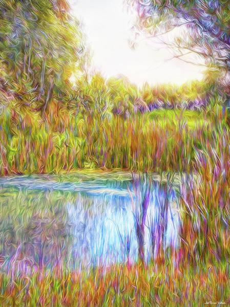 Digital Art - Serenity Reflections by Joel Bruce Wallach