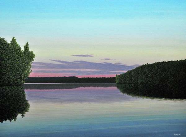 Painting - Serenity Skies by Kenneth M Kirsch