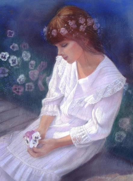 Wall Art - Pastel - Serenity by Sue Halstenberg