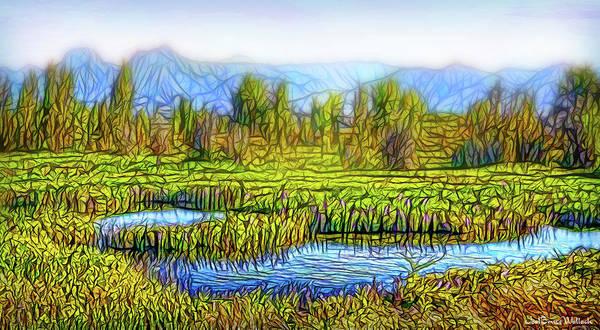 Digital Art - Serenity Sunrise by Joel Bruce Wallach