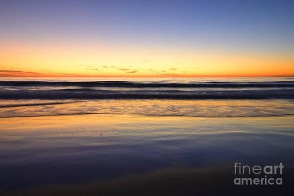 Serenity Sunset Art Print