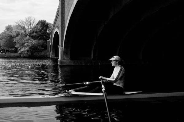 Rowing Photograph - Serenity by Tim  Telep