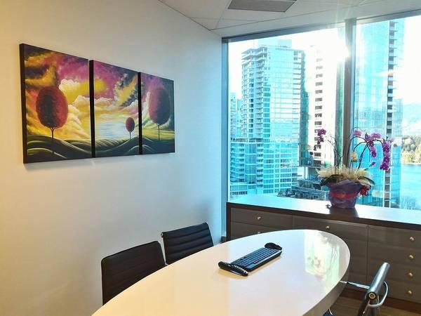 Mojo Painting - Serenity Triptych by Studio Mojo Artwork Canada