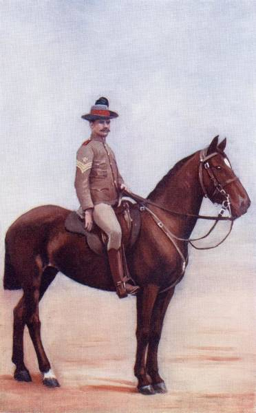 Wales Drawing - Sergeant Major Of The New South Wales by Vintage Design Pics