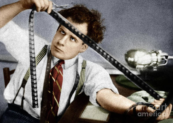 Photograph - Sergei Eisenstein by Granger